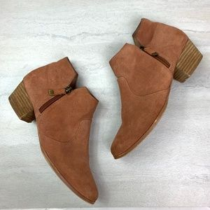 Chelsea Crew Suede Ankle Boots chestnut brown 10